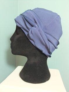 Sewn chemo hat/cap free chemo scarf pattern Snip-Rip-Hooray
