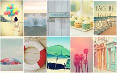 Bits & Pieces: * Take me to the ocean * Mood Board