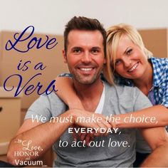 Love is a Verb--It's not about marrying your one true love. It's about deciding to keep him as your one true love. Read on!