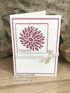 Bags That One!: Glimmer Paper, Stylish Stems and Stampin' Up! Perfect.