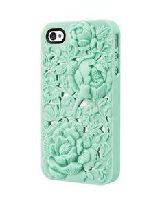 Unique Design Rose Embossing Case for Iphone 4/4s