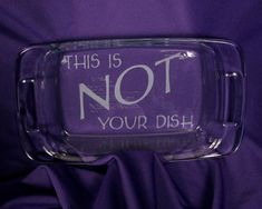 3 Quart Pyrex Baking Dish with Personalized Etching by pic76, $24.95