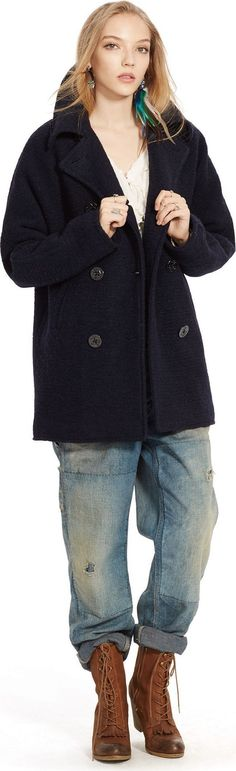 Wollmantel von DENIM & SUPPLY Ralph Lauren. Schnelle und kostenlose Lieferung. 100 Tage Rückgaberecht. Im Angebot!