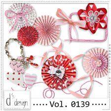 Vol. 0139 - Love Mix  by Doudou's Design  #CUdigitals cudigitals.com cu commercial digital scrap #digiscrap scrapbook graphics