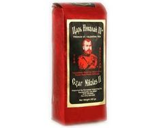 Czar Nicolas II - St. Valentines. (black tea with rose flavor)