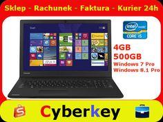 Mocny Laptop Toshiba Satellite Pro i5 4GB