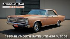 Muscle Car Of The Week Video Episode #113 - 1965 Plymouth Satellite 426 ...