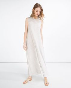 you can live in this all summer long |  LONG DRESS from Zara