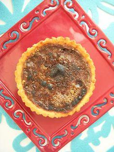 Tartelettes aux poires caramélisées & crème d'amandes ... légère ...