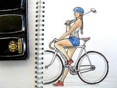https://flic.kr/p/Aq5kpN   Bikepolo   Bike polo player with fixie