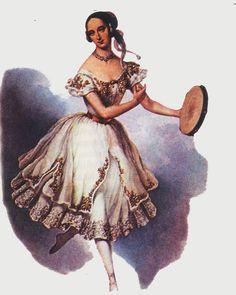 Marie Taglioni - la gitana