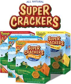 SUPER CRACKERS® | 100% Natural, Crackers with real vegetables in them (i.e. spinach)
