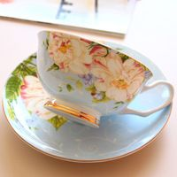 Styling Tools Coffee Cup Kitchen Accessories British Black Tea Cups Set Drinkware Mugs Wholesale