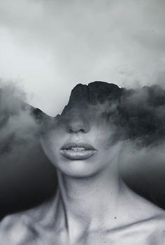double exposure by Antonio Mora (Spain) - mist mtn head Contemporary Wall Art, Contemporary Artists, Double Exposure Photography, Multiple Exposure, Design Your Dream House, Magritte, Creative Photography, Home Art, Art Drawings