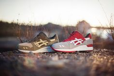 """asics gel lyte 3 - crane and turtle pack""  #asics   #asicsgel   #asicsgellyte   #asicsgellyte3   #gellyte3   #gl3   #crane   #turtle"