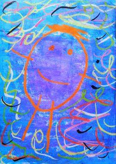 The drawing of the man evolves throughout the nursery school, bonhom . Preschool Art Activities, Petite Section, Ecole Art, Nursery School, Kindergarten Art, Painting For Kids, Elementary Art, Pre School, Art Lessons