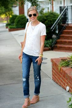 Love those jeans. Might be getting some like these for the fall