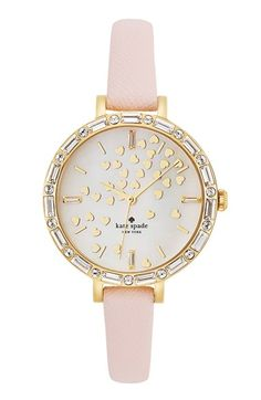 Valentine's Gift Ideas - pretty Kate Spade Watch #commandress