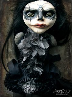 OcéanoMar - Art Site : Horka Dolls, by Klaudia Gaugier.