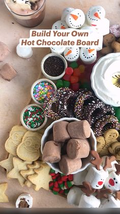 Christmas Party Food, Christmas Brunch, Christmas Cooking, Christmas Goodies, Christmas Desserts, Holiday Treats, Christmas Treats, Holiday Recipes, Hot Chocolate Coffee