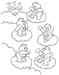 coloring page Care Bears on Kids-n-Fun. Coloring pages of Care Bears on Kids-n-Fun. More than coloring pages. At Kids-n-Fun you will always find the nicest coloring pages first! Farm Animal Coloring Pages, Cute Coloring Pages, Cartoon Coloring Pages, Coloring Pages To Print, Printable Coloring Pages, Coloring Sheets, Coloring Books, Free Adult Coloring, Coloring Pages For Kids