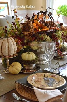 Tablescape ~ Fall, Thanksgiving.