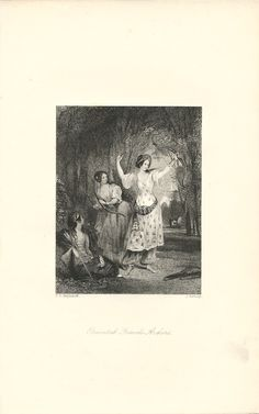 """""""Oriental Female Archers,"""" an 1841 engraving from The Book of Archery.  Available at http://www.uncannyartist.com/products/1841-prints-archery."""