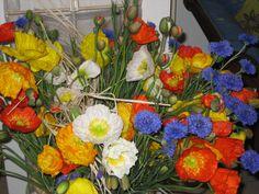 Mazzo di fiori coloratissimi