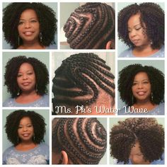 New ideas crochet braids styles water waves Crochet Braid Pattern, Crochet Braid Styles, Braid Patterns, Crochet Hair, Natural Hair Care Tips, 4c Natural Hair, Natural Hair Styles, Crochet Braids Hairstyles, African Braids Hairstyles