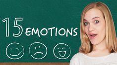 German Lesson - 15 Emotions - Expressing Joy, Surprise, Sadness, Shock a...