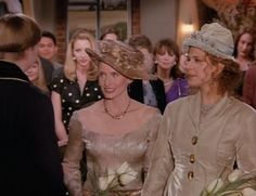 Pin for Later: 12 Gay Weddings From Pop Culture You Need to Revisit Today Carol and Susan on Friends Remember these two? Ross's ex Carol (Jane Sibbett) and Susan (Jessica Hecht) marry in the girls' apartment.