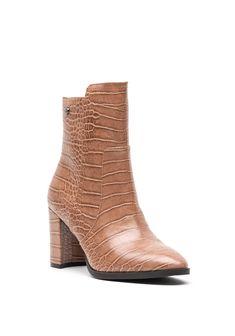 High Heel Boots, Heeled Boots, High Heels, Crocs, Booty, Ankle, Leather, Fashion, Moda