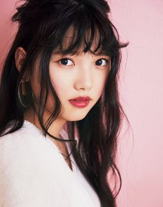 欅 坂 46 · Rieki Uemura show ♡ Fall of the fall in the fall MIX Girly Corde Girly, Angora Sweater, Beauty Women, Faces, Kawaii, Japanese, Dreams, Woman, Lady