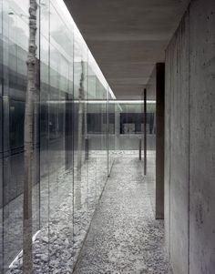 Les Cols Restaurant, Catalonia. RCR Architects #glass #transparent #marble