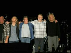 Eagles.  Looks like that was one concert they were glad when it finished. LOL
