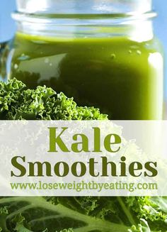 Kale Smoothie Recipes for Fast Weight Loss Kale smoothies are amazing for weight loss!Kale smoothies are amazing for weight loss! Weight Loss Meals, Weight Loss Smoothies, Fast Weight Loss, Lose Weight, Healthy Detox, Healthy Diet Plans, Healthy Smoothies, Healthy Weight, Easy Detox