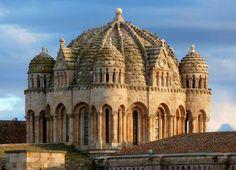 Catedral de Zamora donde se localiza el museo catedralicio