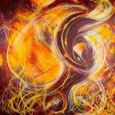 MC CARINI Reconstruction of the Chimera (Zachericle) 60x60 acrylic on canvas