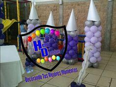 Castillo de globos basico