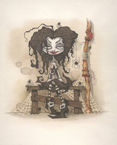 Miss Muffet, Gris Grimly