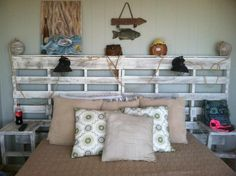 Now this headboard is something that would certainly stimulate you with its wild rustic, and also the design because this certain shape allows you to hang a number of accessories on these wooden shelves. Or place some decoration pieces on the top. Amazon Home Decor, Affordable Home Decor, Cheap Home Decor, Diy Home Decor, Gypsy Home Decor, Gold Home Decor, Green Home Decor, Home Decor Catalogs, Home Decor Store