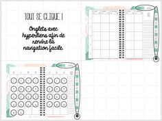 À utiliser sur Ipad ou tablette Androïd Ipad, Notebook, Bullet Journal, Primary Education, Planner Organization, The Notebook, Exercise Book, Notebooks