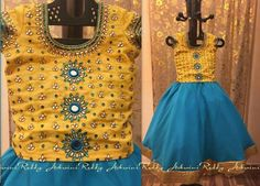 Exclusive Work Frock by Ashwini Reddy - Indian Dresses