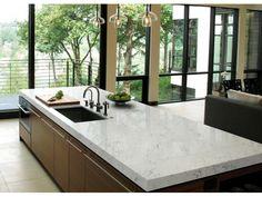 M03  Bianca Carrara Quartz Countertops #wholesale #supplier #kitchen #renovation #interior #design