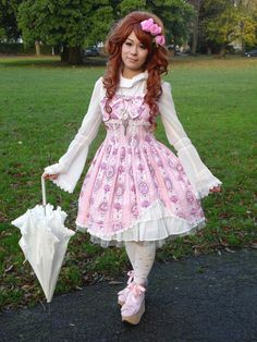 Beautiful classic hime coord