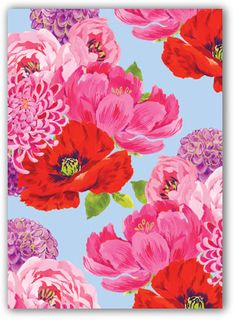 Noi Publishing  Floral Illustration Inspiration, love this, maybe a pattern to look out for in linens