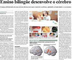 Inglês na Educação Infantil: Ensino bilíngue desenvolve o cérebro.