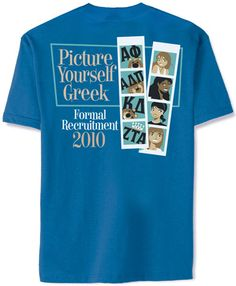 LOVE this idea for a Panhellenic recruitment shirt! Alpha Phi Omega, Zeta Tau Alpha, Kappa Delta, Phi Mu, Alpha Chi, Chi Omega, Theta, Sorority Outfits, Sorority Life