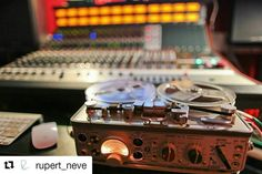 #Repost @rupert_neve 5088  tape in the studio with #Bibio. We recommend you all go to our website and read the interview we just did with him - really great stuff especially if you're into experimental music. @AppLetstag #neve #tape #music #art #taped #mixtape #taping #recording #classic #tapeart #90s #sound #audio #studio #audiophile #video #mixing #protools #production #speakers #hifi #microphone #recordingstudio #mastering #headphone #analog #amplifier #mixer #engineering