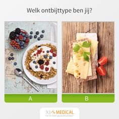 Welk ontbijttype ben jij? Xls Medical, Healthy Lifestyle, Weight Loss, Cheese, Ethnic Recipes, Food, Meals, Yemek, Weigh Loss